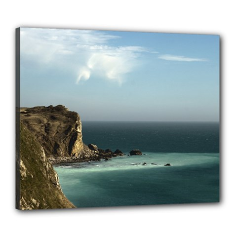 Dramatic Seaside Picture Canvas 24  x 20  (Stretched)