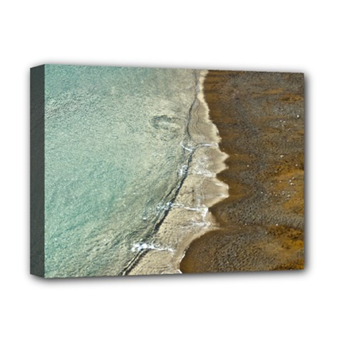 Wawe2 Deluxe Canvas 16  X 12  (framed)