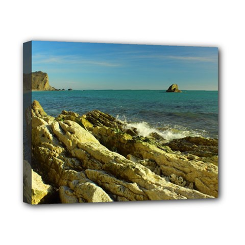 2014 03 15 Durdle Door 261 Canvas 10  x 8  (Framed)