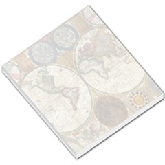 1794 World Map Small Memo Pad