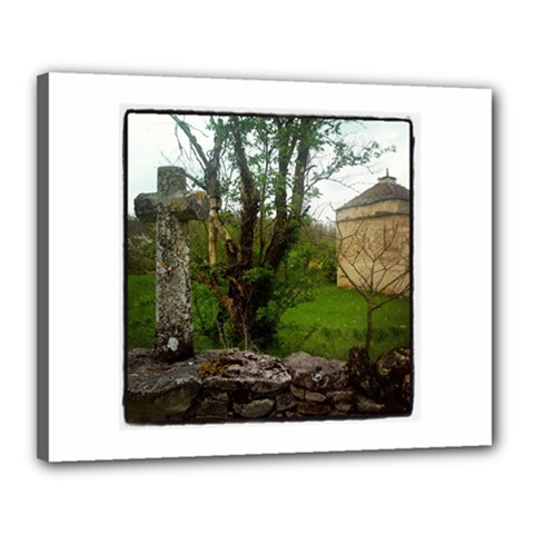 Toulongergues Canvas 20  X 16  (framed)