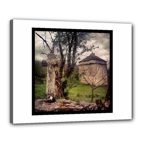 Toulongergues2 Canvas 20  x 16  (Framed)