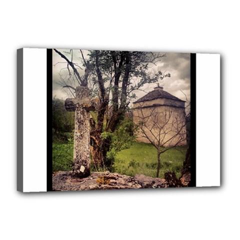 Toulongergues2 Canvas 18  x 12  (Framed)