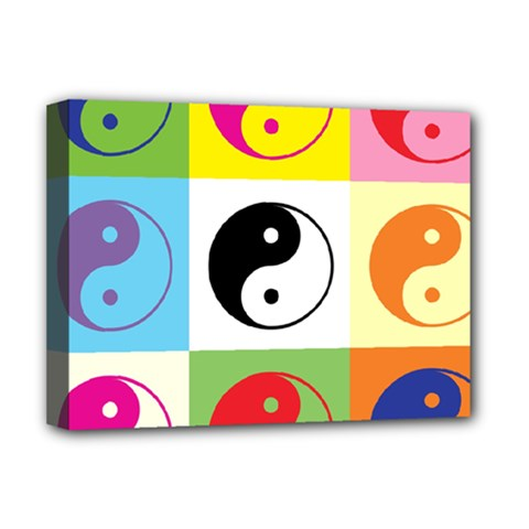 Ying Yang   Deluxe Canvas 16  x 12  (Framed)