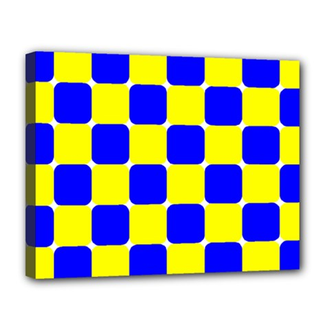Pattern Canvas 14  x 11  (Framed)