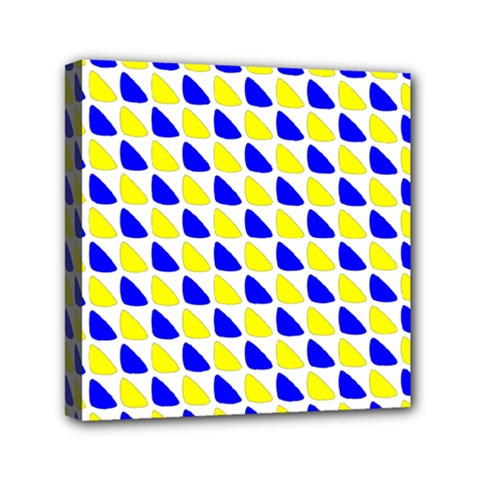 Pattern Mini Canvas 6  x 6  (Framed)