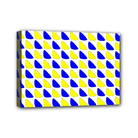 Pattern Mini Canvas 7  X 5  (framed)