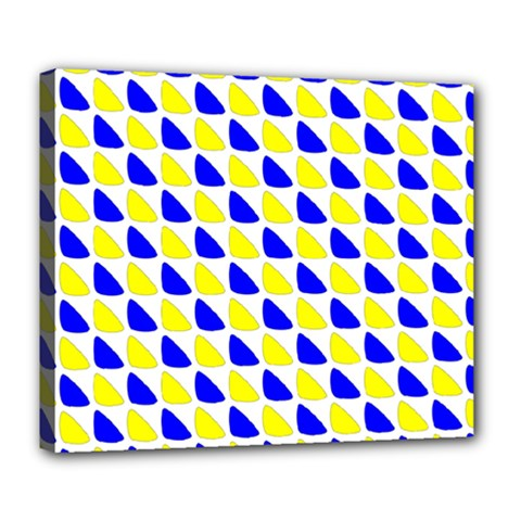Pattern Deluxe Canvas 24  x 20  (Framed)
