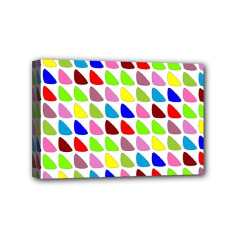Pattern Mini Canvas 6  x 4  (Framed)