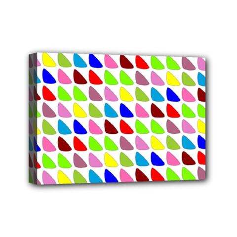 Pattern Mini Canvas 7  x 5  (Framed)