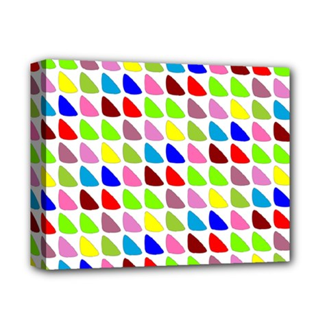 Pattern Deluxe Canvas 14  x 11  (Framed)