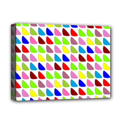 Pattern Deluxe Canvas 16  X 12  (framed)