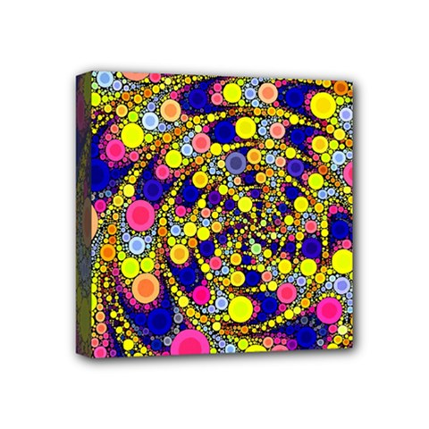 Wild Bubbles 1966 Mini Canvas 4  X 4  (framed)