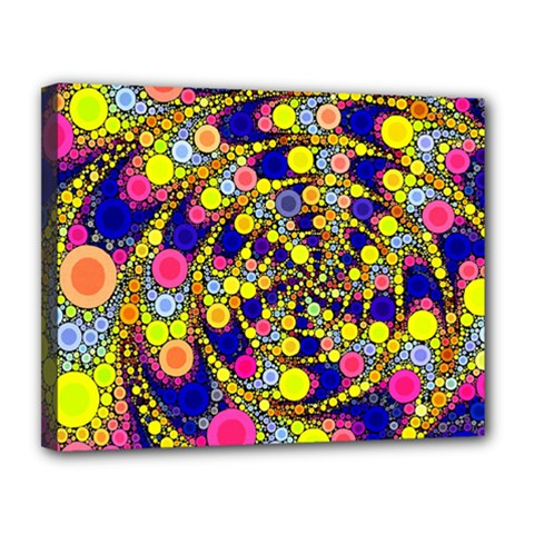 Wild Bubbles 1966 Canvas 14  x 11  (Framed)