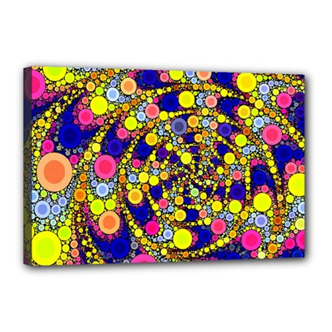 Wild Bubbles 1966 Canvas 18  x 12  (Framed)