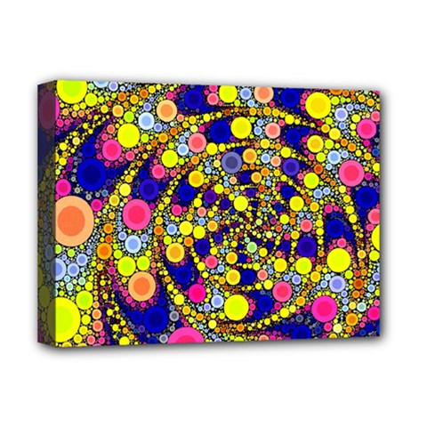 Wild Bubbles 1966 Deluxe Canvas 16  x 12  (Framed)