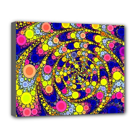 Wild Bubbles 1966 Deluxe Canvas 20  x 16  (Framed)