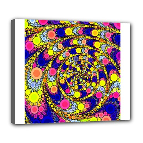 Wild Bubbles 1966 Deluxe Canvas 24  x 20  (Framed)