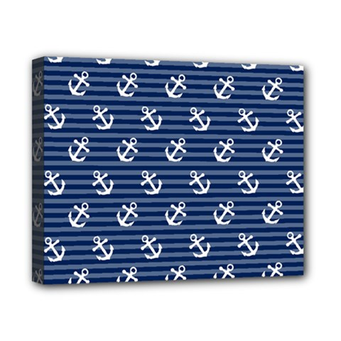 Boat Anchors Canvas 10  X 8  (framed)