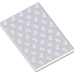 Boat Anchors Large Memo Pad