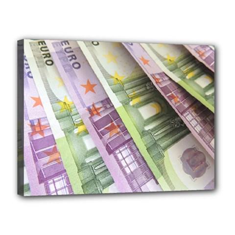 Just Gimme Money Canvas 16  X 12  (framed)