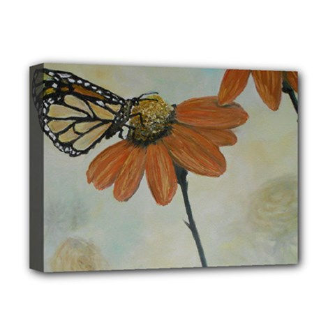 Monarch Deluxe Canvas 16  x 12  (Framed)
