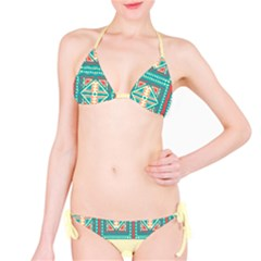 Coral Pattern Bikini