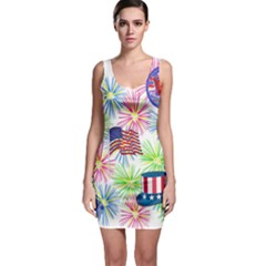 USA Fireworks Bodycon Dress