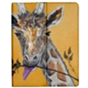 Giraffe Treat Apple iPad Mini Flip Case View1