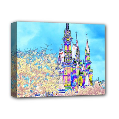 Castle for a Princess Deluxe Canvas 14  x 11  (Framed)