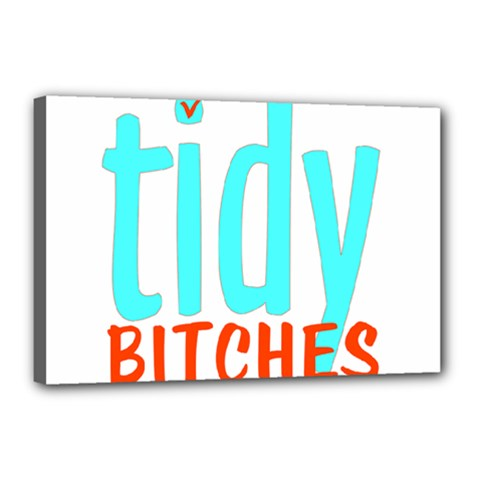 Tidy Bitcheslarge1 Fw Canvas 18  x 12  (Framed)