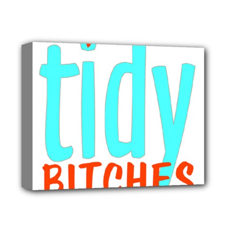 Tidy Bitcheslarge1 Fw Deluxe Canvas 14  x 11  (Framed)