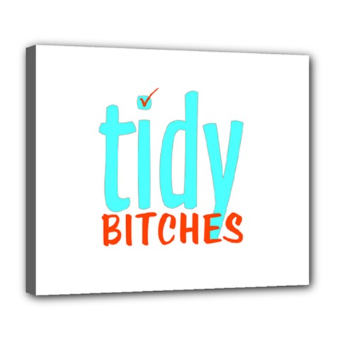 Tidy Bitcheslarge1 Fw Deluxe Canvas 24  X 20  (framed)
