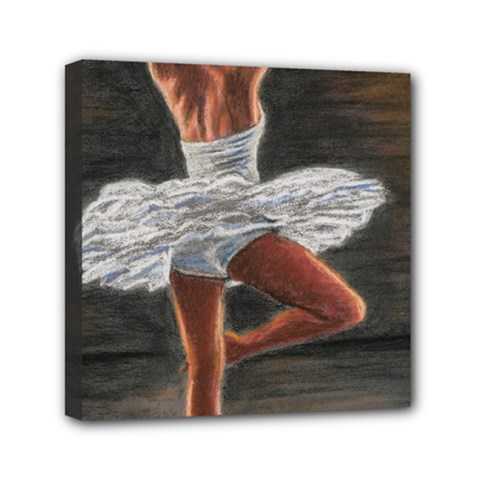 Ballet Ballet Mini Canvas 6  x 6  (Framed)