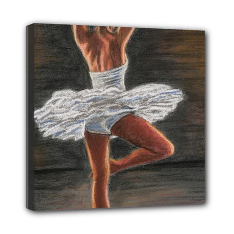 Ballet Ballet Mini Canvas 8  x 8  (Framed)
