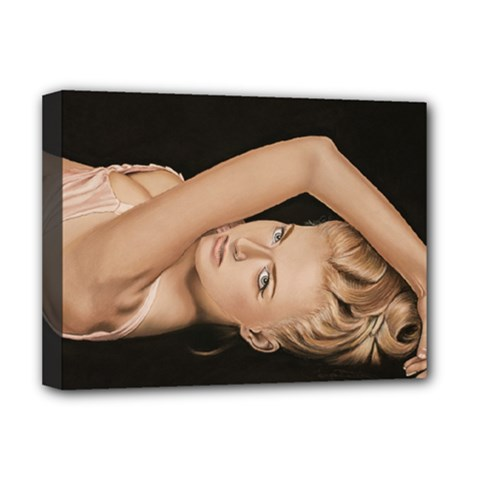 Alluring Deluxe Canvas 16  x 12  (Framed)