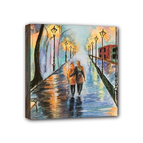 Just The Two Of Us Mini Canvas 4  x 4  (Framed)