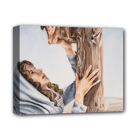 Stabat Mater Deluxe Canvas 14  x 11  (Framed)