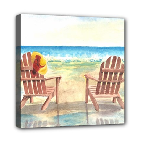 Time To Relax Mini Canvas 8  x 8  (Framed)