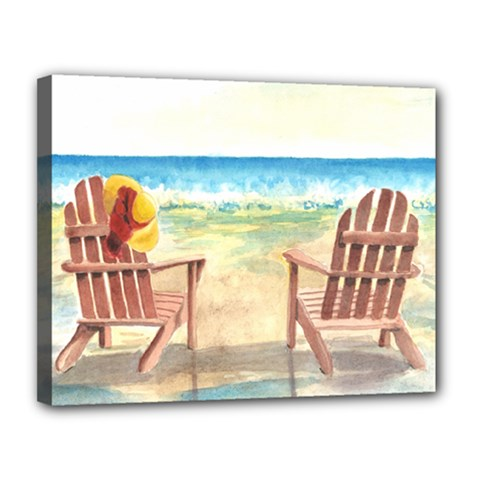 Time To Relax Canvas 14  x 11  (Framed)