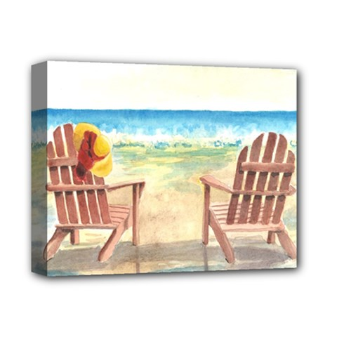Time To Relax Deluxe Canvas 14  x 11  (Framed)