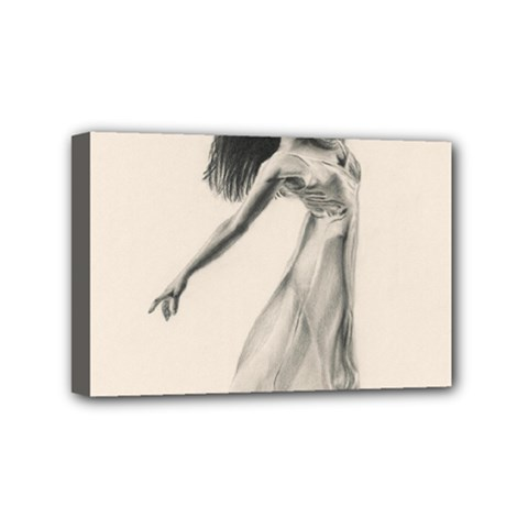 Perfect Grace Mini Canvas 6  X 4  (framed)