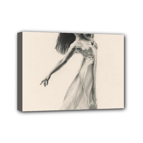 Perfect Grace Mini Canvas 7  x 5  (Framed)