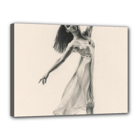 Perfect Grace Canvas 16  x 12  (Framed)