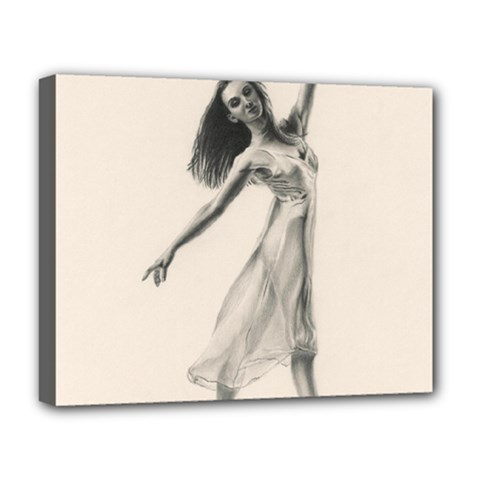 Perfect Grace Deluxe Canvas 20  X 16  (framed)