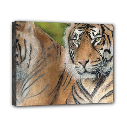 Soft Protection Canvas 10  x 8  (Framed)