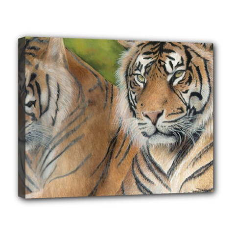 Soft Protection Canvas 14  x 11  (Framed)