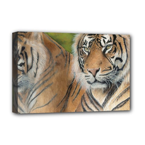 Soft Protection Deluxe Canvas 18  x 12  (Framed)