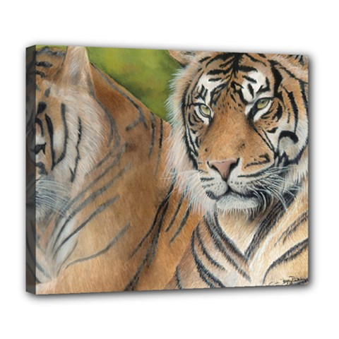Soft Protection Deluxe Canvas 24  x 20  (Framed)