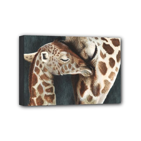 A Mother s Love Mini Canvas 6  x 4  (Framed)